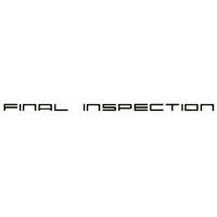 Final Inspections -coupons
